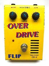 Guyatone OD-X, Flip, Overdrive, Tube Power, Made In Japan, Vintage Guitar Effect