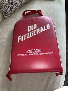 old fitzgerald bourbon vintage stadium cushion