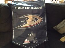 Coor's Light NHL 2017 Anaheim Ducks Pennant, Banner, Stanley Cup Champs