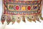 Kutchi Banjara Antique Door Valance Hand Embroidery Beautiful Tapestry Handmade