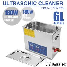 6L Numérique Nettoyeur à Ultrason Cleaner transducteur chauffage heures FR
