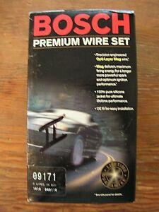 BOSCH Premium Wire Set ~Fits Porsche & Volkswagen~ 4 Cylinder Spark Plug Wires