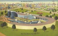 1939 NEW YORK WORLD's FAIR - Maritime Building - ARCHITECTURE
