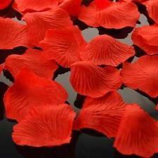 100 Seda Rosa pétalos Boda Confeti de mesa decoración fiesta centros Mesa