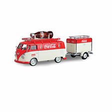 1960 Coke VW Kombi with Large Contour Bottle & Trailer
