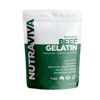NutraViva NesProteins Beef Gelatin (Grass Fed) 450g Digestion & Detoxification