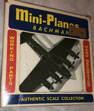Bachmann Mini-Planes B-17 Flying Fortress Airplane In Box! Vintage
