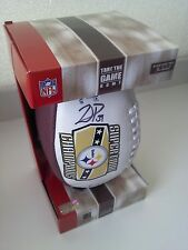 Pittsburgh Steelers Super Bowl XL Champions Football w/ Willie Parker Autograph