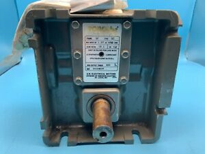 US Motors TORQube Gearbox 15:1 Ratio, 17 Frame, 1.07hp at 1750 RPM