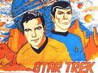 1977 STAR TREK CLOTH TOWEL vintage 12-month calendar SPOCK, CAPT. KIRK Paramount