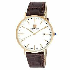 Faux Leather Band Men's Dress/Formal Wristwatches