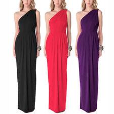 Polyester Draped Formal Dresses for Women