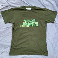 R.E.M. 2005 Tour T Shirt 'Music Will Provide The Light You Cannot Resist' Medium