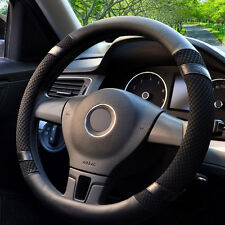 Car Steering Wheel Cover Microfiber Leather Auto Summer ice silk Fit 40cm / 16''