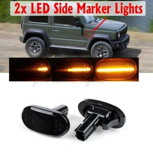 Dynamic LED Side LIght Turn Signal Lamp For Suzuki Jimny JB64W JB74 JB23W Lapin