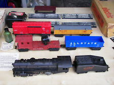 Marx Post-War: Allstate Train Set #9619 With ORG Box (Very Good Condition)