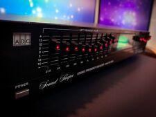 ADC SS-100SL Vintage Stereo Graphic Equalizer Spectrum Analyzer