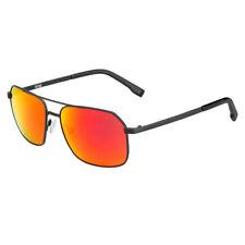 Bolle Navis Brown Fire Rectangle Sunglasses (Matte Gun)
