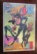 Danger Girl 3D #1 polybagged with glasses 9.0 NM (2003)