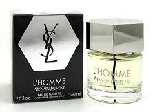L'Homme by Yves Saint Laurent Eau de Toilette Spray 2.0 oz/ 60 ml Men New Sealed