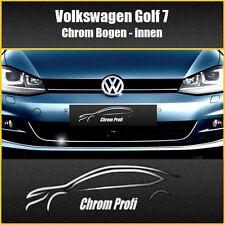 VW Golf 7 - 3M Chrom-Zierleisten Leisten Chromleisten Kühlergrill Bogen INNEN