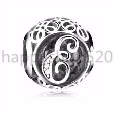 Xmas European S925 silver charms Safety chain clip bead For bracelet Bangle US