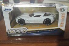 Jada Lopro 2009 Corvette Stingray Concept 1:64 White