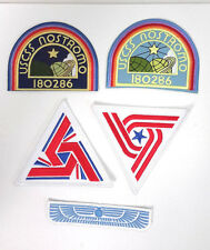 ALIEN Movie- USCSS Nostromo Deluxe Patch Set of 5-FREE S&H (ALPA-Set-5-Deluxe)