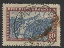 ARGENTINA STAMP #390  10p MARCH   1930   USED