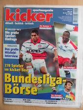 KICKER 14 - 15.2. 1999 Giovane Elver Bob-WM WM Ski-Alpin Ski-Nordisch Rodeln