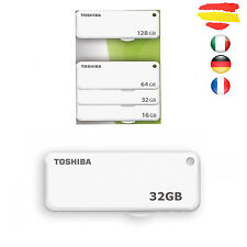 PENDRIVE 32GB TOSHIBA MEMORIA USB 2.0 32 GB ORIGINAL PEN DRIVE U203