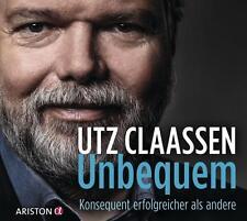 Utz Claassen ~  Unbequem ~ Konsequent erfolgreicher als andere ~ 2 CDs OVP