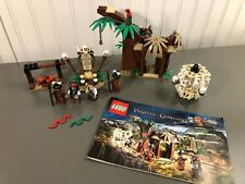 LEGO Pirates of the Caribbean Cannibal Escape  #4182 100% Complete Instr