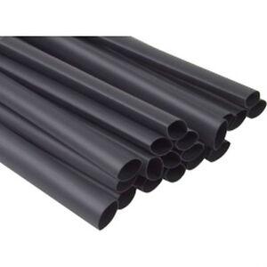 """3M 59728 EPS-300 3/16"""" Heat Shrink Tube, 48In, Black,12 4' Lengths Per Box"""