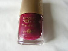 VERNIS A ONGLES L OREAL RESIST &SHINE 7 JOURS N° 535 vieux rose   NEUF