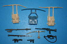 STAR WARS VINTAGE WEAPON 10 PC BLASTER STAFF PACKS BELTS WEAPON/ACC. KENNER