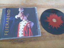 CD Indie Feierabend - Same / Untitled Album (11 Song) SPV REC Lothar Meid