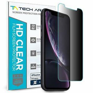 Tech Armor 4Way Privacy Film Screen Protector for Apple iPhone Xr [1-Pack]