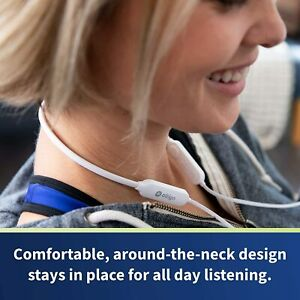 Bluetooth Headphones - Altigo in Ear Wireless Neckband - Earphones - White