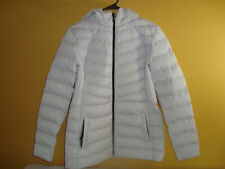 NEW 32 Degrees Heat Ladies' Women's 4-Way Stretch Puffer Jacket Stone (White) M