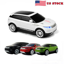 3D Range Rover Car 2.4Ghz Wireless Mouse Optical USB PC Laptop Mice Receiver US