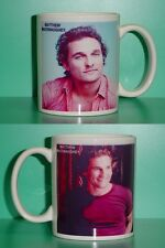 MATTHEW McCONAUGHEY - with 2 Photos - Designer Collectible GIFT Mug