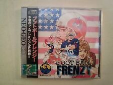 Neo Geo CD -- Foot ball Frenzy -- New. JAPAN GAME. SNK. 14373
