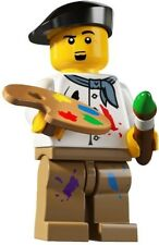 14 LEGO Minifig series 4 Artist painting 8804 oil paint