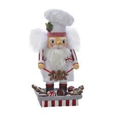 Kurt Adler Hollywood Santa Gingerbread Chef Nutcracker, 12-Inch