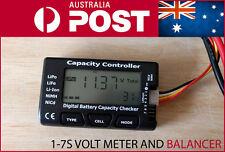 CellMeter-7 Digital Battery Capacity Voltage Checker Meter LiPo Li-lon Balancer