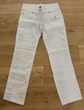 PROMOD pantalon 7-8ème / pantacourt en coton stretch blanc 36 en TTBE