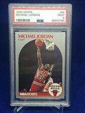 Michael Jordan PSA 9 NBA Hoops 1990 #65 Chicago Bulls *Brand New Slab!