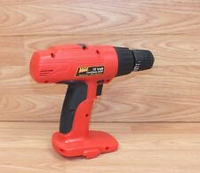 Genuine Shop Source 12 Volt Red & Black Hand Held Cordless Drill Only **READ**