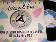 """7"""" - Adam & Eve Wenn die Sonne erwacht in den Bergen (Live) # 2065"""